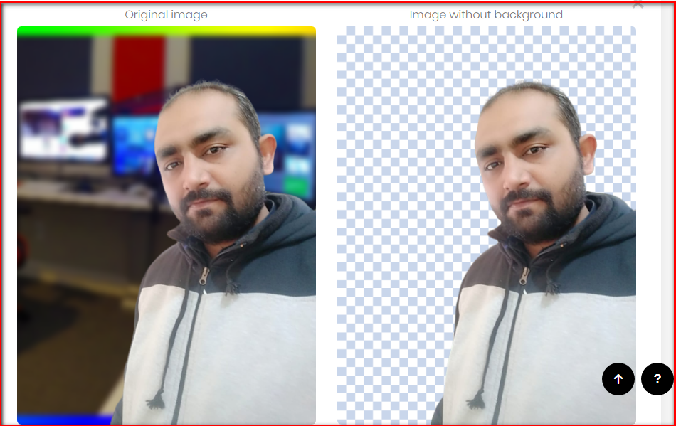 Remove Background Image in 5 Second