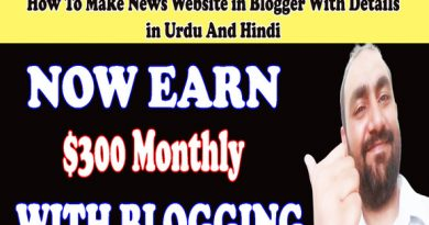 News Website Template Blogging
