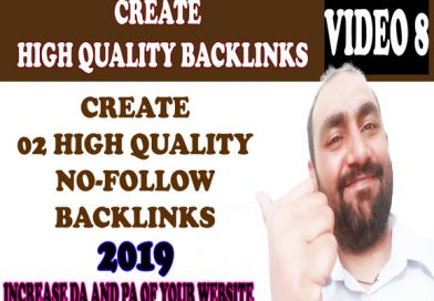 How to build high domain authority free SEO nofollow backlinks